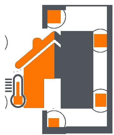 Komplexe Lösungen zum Energiesparen, Heizungs - und Sanitärlösungen – Klimatisierung, Lüftung, Heizen